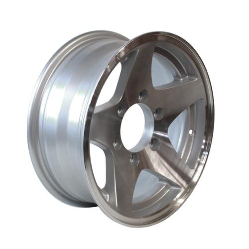 """15"""" Wheel - 6 Lug- Aluminum"""