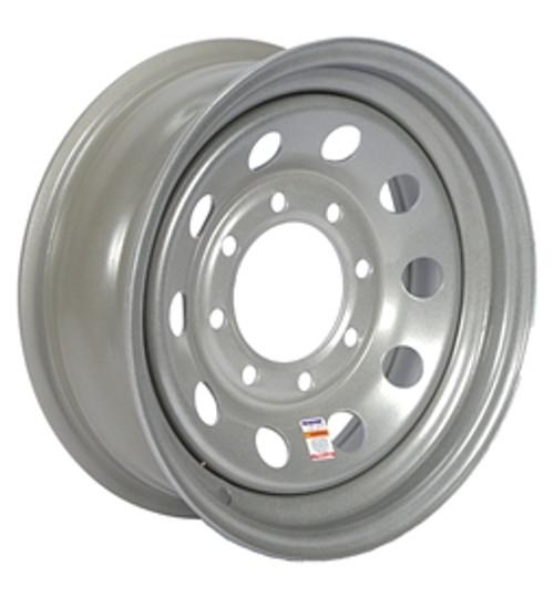 """16"""" Wheel - 8 Lug - Silver"""
