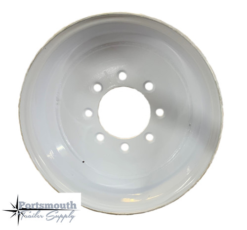 "14.5"" Wheel- 8 Lug- White"