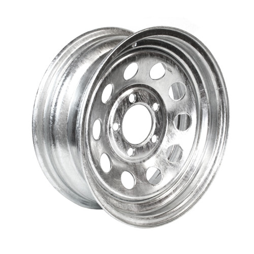 "14"" Wheel- 5 Lug- Galvanized, Mod"