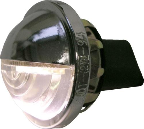 LICENSE PLATE LIGHT CHROME LED