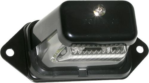 LICENSE PLATE LIGHT BLACK LED