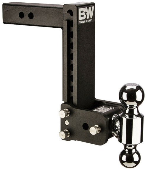 "Tow and Stow Adjustable Ball Mount- 2 5/16"" x 2"" Balls, 2.5""Shank, 8.5""Drop, 9""Rise"