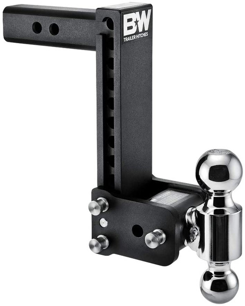 """Adjustable Ball Mount - 9"""" Drop & 9-1/2"""" Rise with 2"""" & 2-5/16"""" Trailer Balls"""
