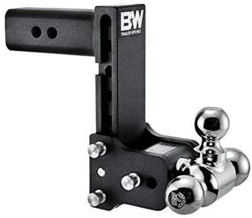 """Adjustable Ball Mount - 7"""" Drop & 7 -1/2"""" Rise with 1-7/8"""", 2"""" & 2-5/16"""" Trailer Balls"""
