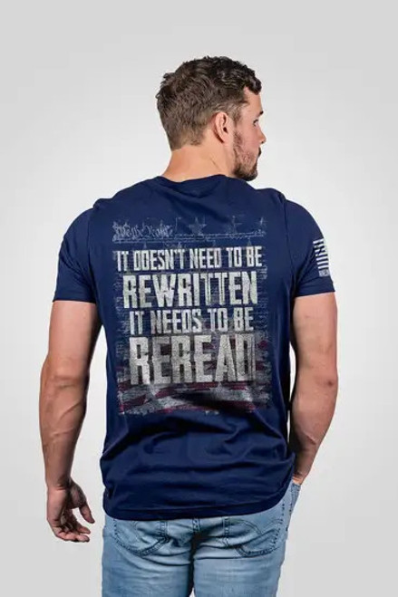 Nine Line Apparel - ReRead not ReWritten- T-Shirt