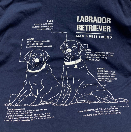 Nine Line Apparel -Labrador Schematic T-Shirt