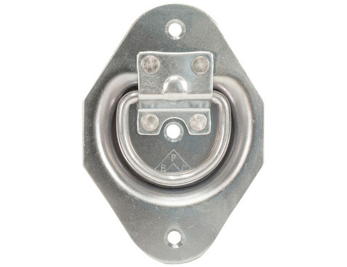 Recessed Rope Ring Zinc Plated