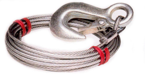 """25' x 3/16"""" Winch Cable"""