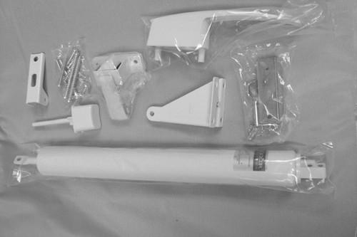 Storm Door Hardware - White - B212038