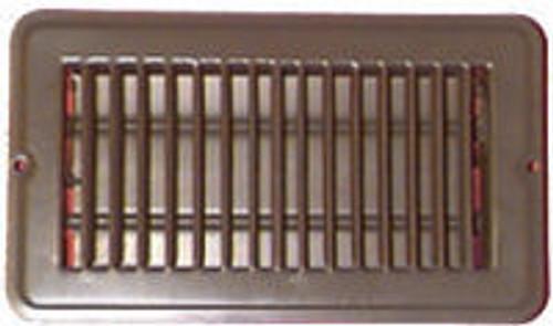 Floor Register 4 x 8 Brown - B421304
