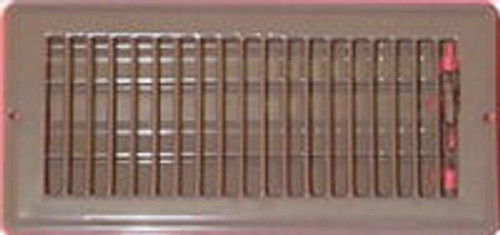 Floor Register 4 x 10 Brown - B421305