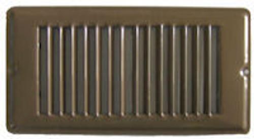 Floor Register Face Plate Brown - B421322