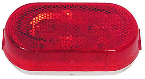 """4-1/8"""" x 2"""" Side Marker Light - Red - PMM108WR"""