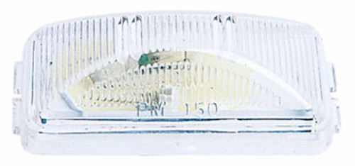 "License Plate Light Clear- 2-1/2"" x 1-1/4"""