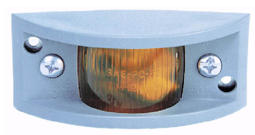 "4-7/8"" x 2-1/4"" Side Marker Light - Amber - PMM122A"