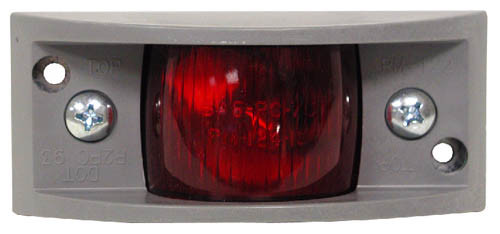 "4-7/8"" x 2-1/4"" Side Marker Light - Red - PMM122R"