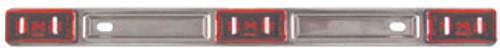 """14-1/4"""" x 3/16"""" Light Bar - Stainless Steel - LED - C514R"""