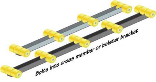 4' Roller Bunks - TD86157