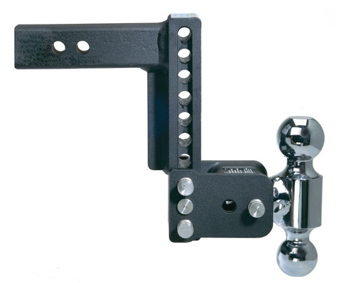 "Adjustable Ball Mount - 7"" Drop & 7-1/2"" Rise with 2"" & 2-5/16"" Trailer Balls"