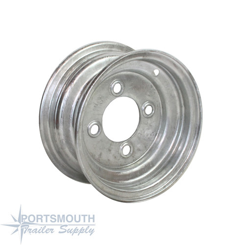 "8"" Wheel - 4 Lug - Galvanized"