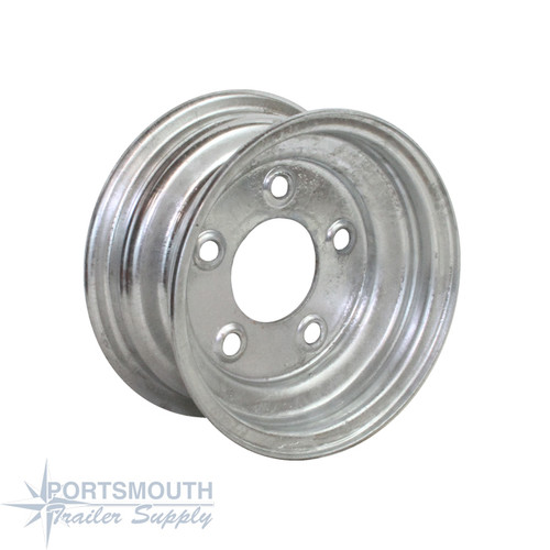 "8"" Wheel - 5 Lug - Galvanized"