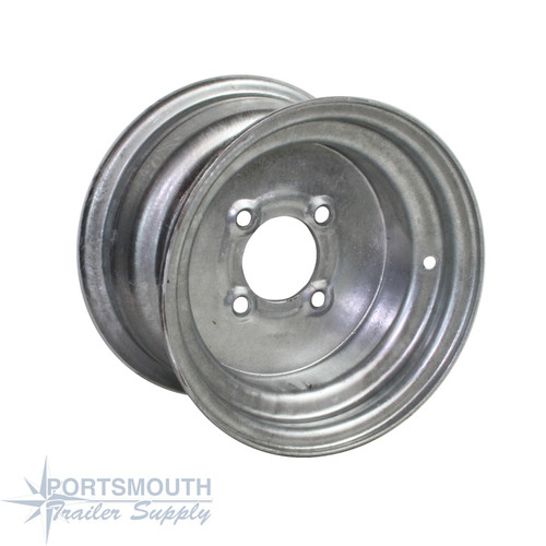 "10"" Wheel - 4 Lug - Galvanized"