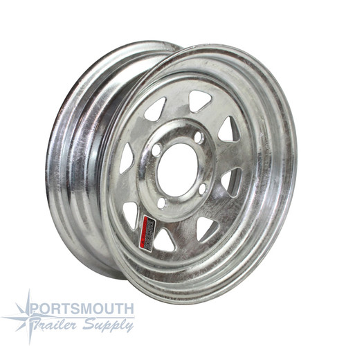 "12"" Wheel - 4 Lug - Galvanized"