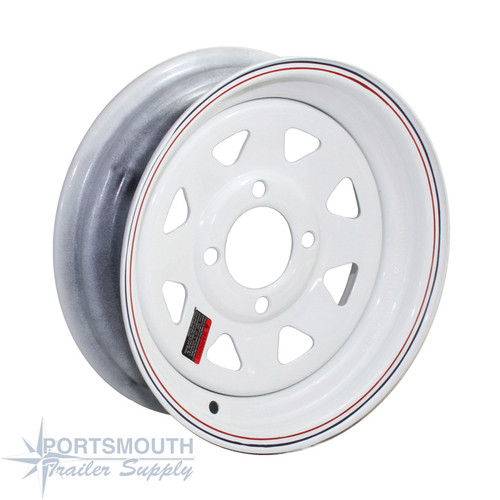 "12"" Wheel - 4 Lug - Painted - LS124LPWS"