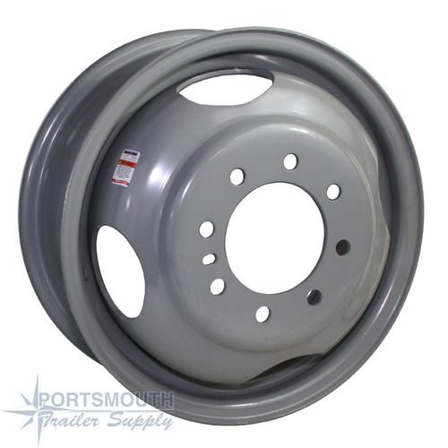 "16.5"" Wheel - 8 Lug - Dual Pilot"