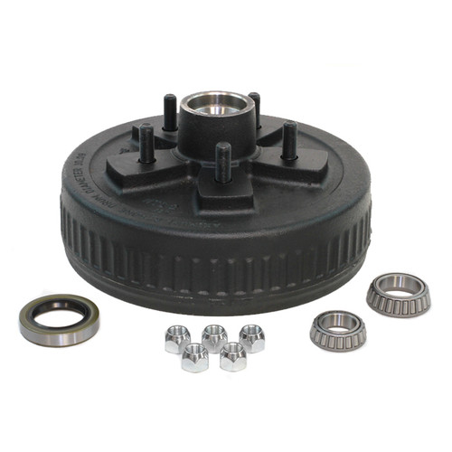 "5 Lug on 5.00"" - Hub & Drum Kit - 1-1/16"" X 1-3/8"" - PTS008-249-KT7"