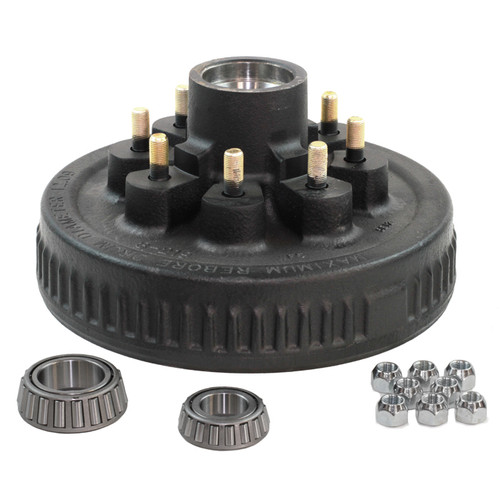 "8 Lug on 6.60"" - 9/16"" Stud - Hub & Drum Kit - 1-1/4"" x 1-3/4"" - PTS008-219-13KT"