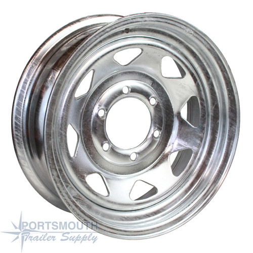 "16"" Wheel - 6 Lug - Galvanized"