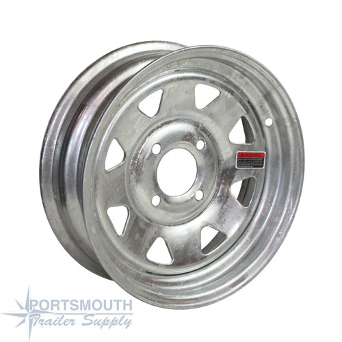 "13"" Wheel - 4 Lug - Galvanized"