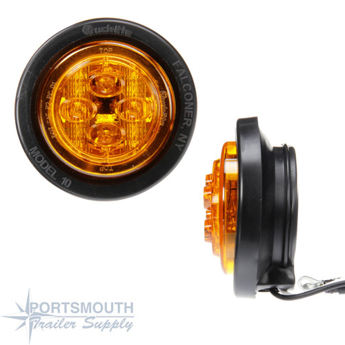 Low Profile LED Side Marker Light - Amber - TRK10086Y