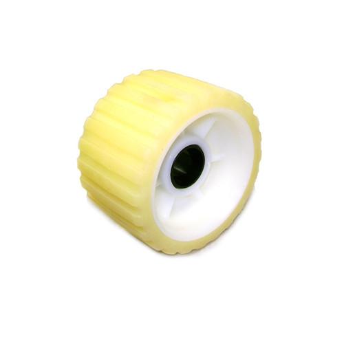"5"" Yellow Rib Roller 5/8"" I.D.-  500YW-5P"