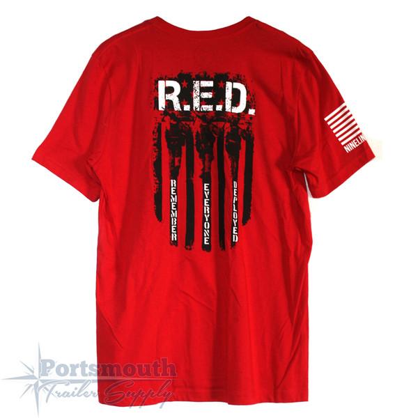 Nine Line Apparel - R.E.D. Remember Everyone Deployed T-shirt