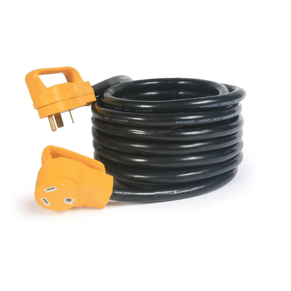 Camco 30Amp Power Grip 25' Extension Cord