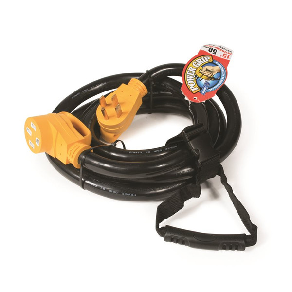 Camco 50Amp Power Grip Extension Cord 15'