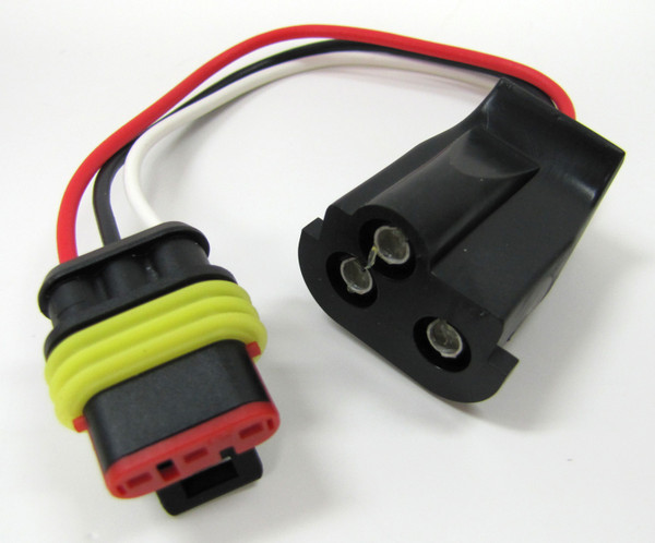 3 WIRE LED- MOLDED PLUG