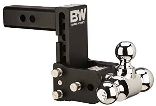 "Tow & Stow Adjustable Tri-Ball Mount-  7.5"" Drop, 7"" Rise, 3"" Hitch"