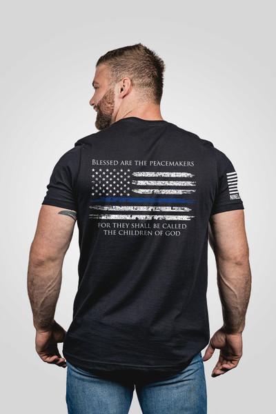 Nine Line Apparel -Thin Blue Line Flag T-Shirt