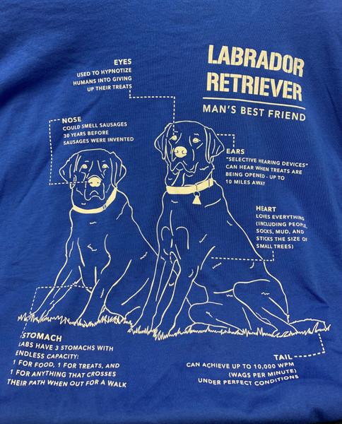 Nine Line Apparel -Women's Labrador Schematic T-Shirt