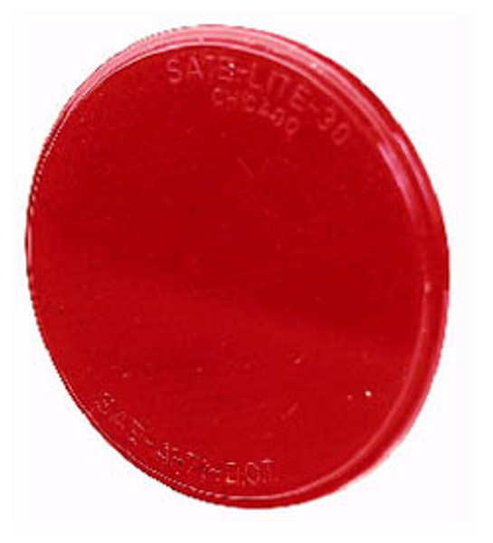 "Light Reflector, RED  3-3/16"""