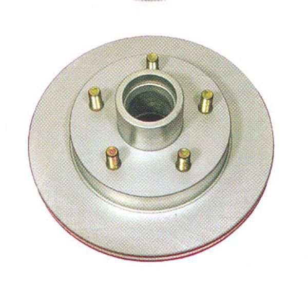 "10"" Kodiak Disc Brake Integral Rotor/Hub - Dacroment - ROTOR-HUB10SCAD"