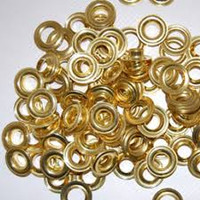 #2 Self Piercing Brass or Nickel Grommets for Stimpson