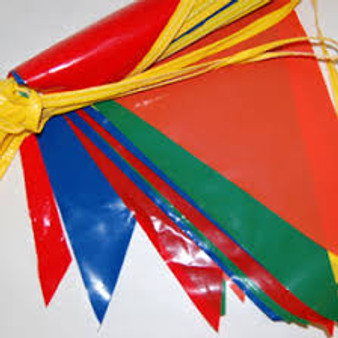 Multi Color Poly Pennants