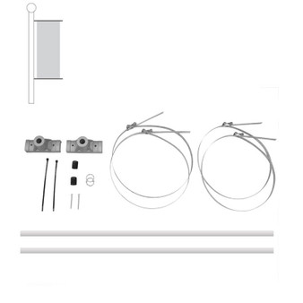 Pole Banner Bracket Kit