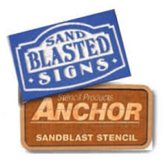 Anchor 116 SignBlast Stencil
