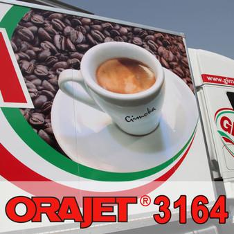 """Orajet 3164XRA White 4 Mil Print Media 54"""" X 150FT"""
